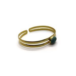 Malachite Cuff Bracelet