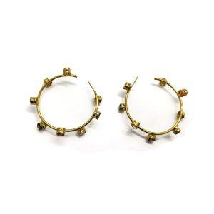 Prong Set Trendy Ear Multi Stone Zircon