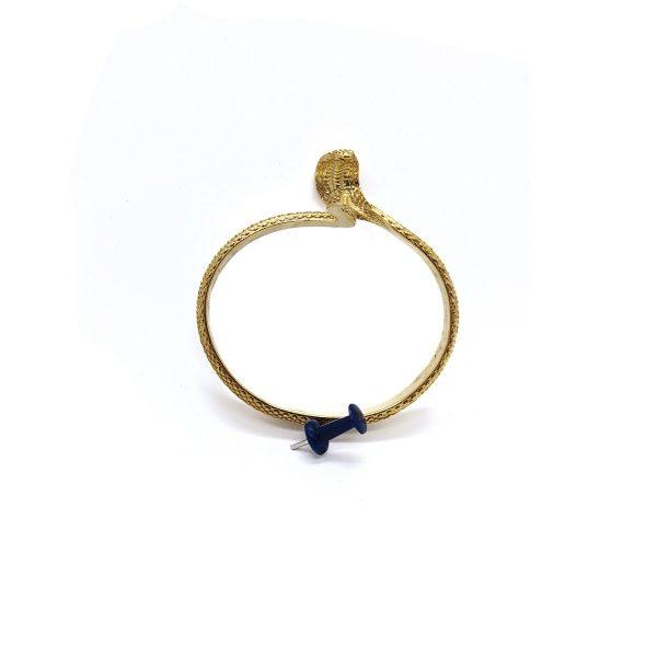 Brass Bangle Snakes – Unique Snake Bracelet Gifts