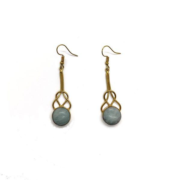 Amazonite Gemstone Earrings