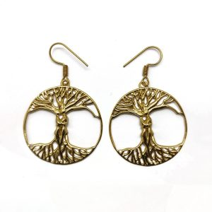 Tree of life with a Couple Earring