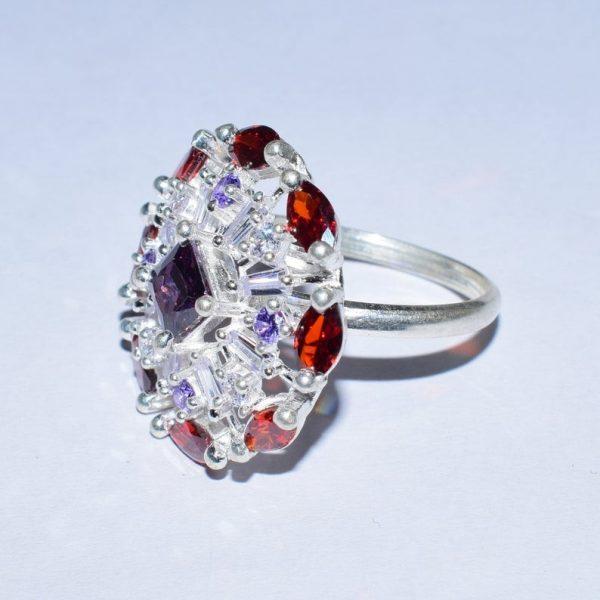 Silver Ring, Gemstone Silver Ring